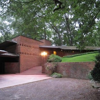 1000 images about frank lloyd wright usonian homes on for Frank lloyd wright palmer house