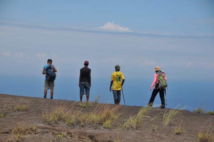 Flores hiking mt volacono ,see the beauty of scinary from the top of mount Egon ,Ende Flores island NTT ,You travel aroun Flores island nothing you dont like ,flores has a realy amazing island with abundent rich of natures and cultures and so much more .