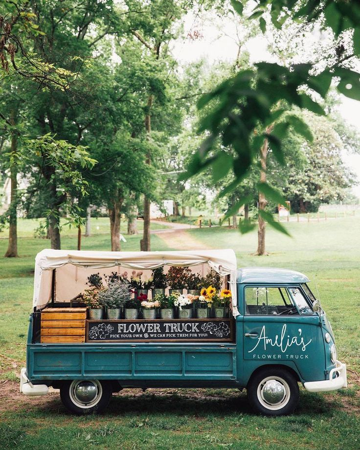 """11.9k Likes, 172 Comments - Country Living (@countrylivingmag) on Instagram: """"A traveling flower truck?! Now THAT sounds like a dream come true!#CLtravel #flowergram…"""""""