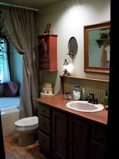 1000+ Ideas About Primitive Country Bathrooms On Pinterest