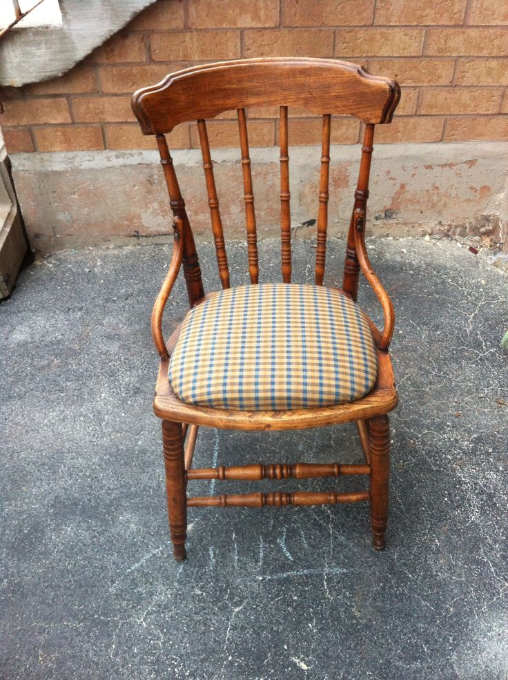 Refinished Cain chair