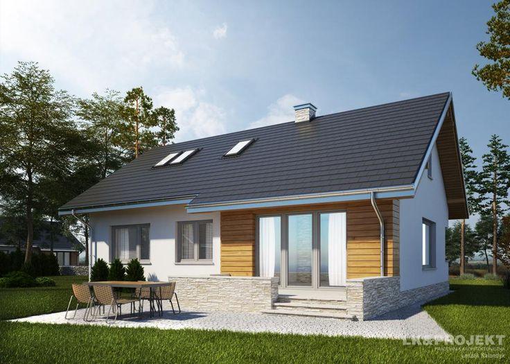 Projekty domów LK Projekt LK&1177 zdjęcie 2
