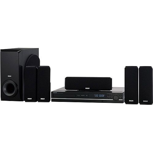 RCA RTD317W, DVD Home Theater System with 1080p HDMI Upconvert DVD Player - Walmart.com