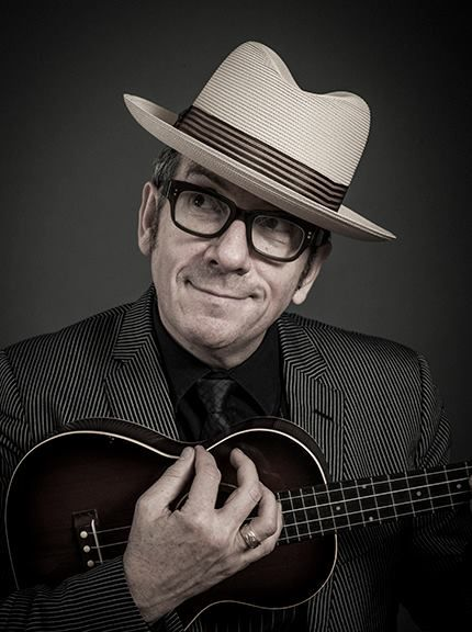 "Elvis Costello by Andy Gotts - ""Oh hey. It's me. Just bein' cute."""