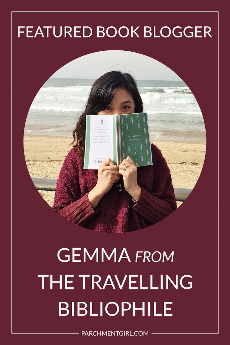 Check out this Q&A with book blogger Gemma from The Travelling Bibliophile! We're chatting about her favorite books, how she started blogging, + more!