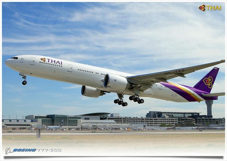 Thai Airlines 777-300