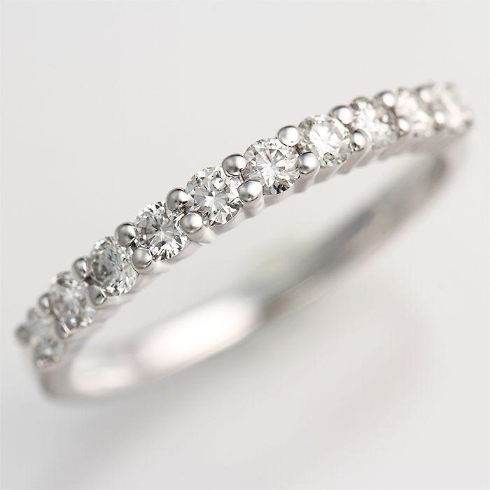 《石田ゆり子さん使用》Ptプラチナダイヤ【スイートテン】輝き保証!エタニティリング[ダイヤカラーG・FクラリティSI1~VS]*結婚指輪(マリッジリング)としても人気です!*【特価ダイヤモンド】【送料無料】【0223PU】
