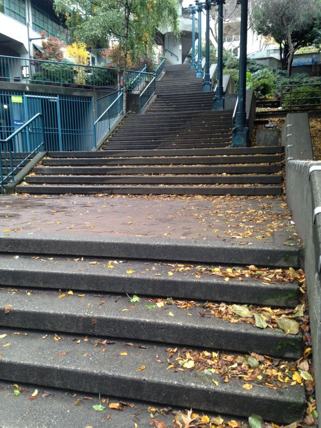 Great #6 Best Stairs To Run In Seattle! Also, The Views Are Amazing!