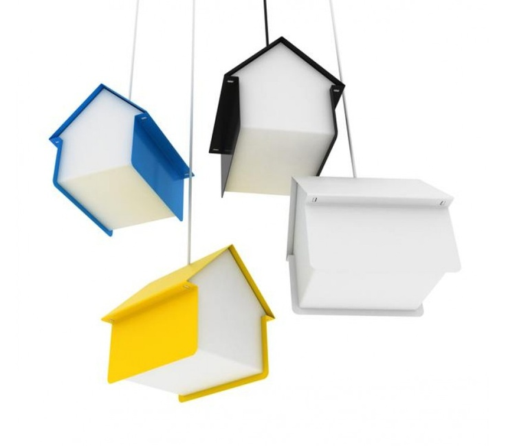 Hut Pendant Light $295.00 The Hut Pendant Light is sister to the the Autumn House Lights concept, a beacon of light and shape, which directs our gaze upwards, pointing us home.  Hut is designed and made in Australia from powder-coated steel and acrylic and slots together without screws.  Available in blue, white, yellow, red and black.  Made an assembled in Australia.
