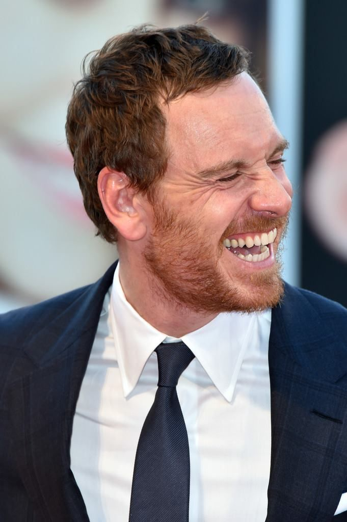 Michael Fassbender..I never tire of his smile!