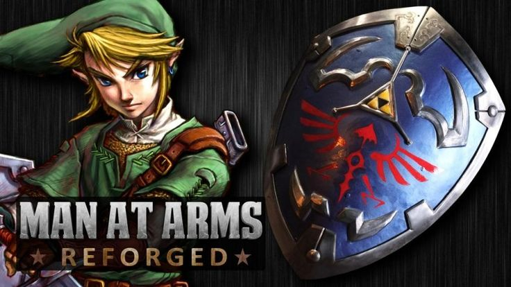Pandai Besi Ini Menempa Hylian Shield dari Legend of Zelda