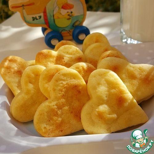 """Детское картофельное печенье """"Лёвушка""""."""