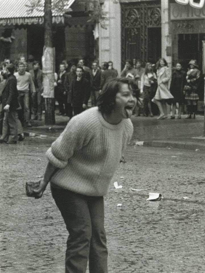 Paris, 1968, no further info