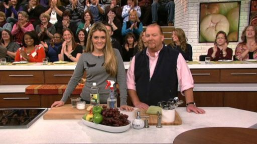 Daphne Oz's Homemade Fruit and Vegetable Wash Recipe by Daphne Oz - The Chew
