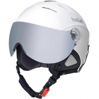 Bolle Slide Visor Helmet Soft White