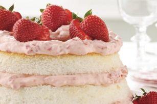 Gâteau des anges à la lime et aux fraises   Recette, idées-repas, dîner, souper - cuisine   Kraft - quest-ce qui mijote