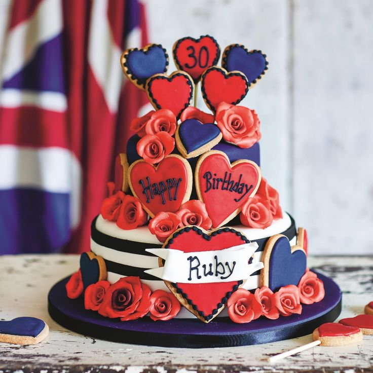 This tattooed sailor cookie explosion cake is the ideal showstopper for any celebration with a delicious combination of cookies and cake. Recipe taken from@Cakeology: Over 20 Sensational Step-by-Step Cake Decorating Projects @by Juliet Sear, £20.00 hardback (Hardie Grant) Photograph @ Helen Cathcart.