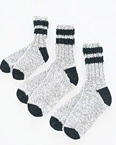 Free Knitting Patterns For Socks Using Worsted Weight Yarn : 17 Best images about Knit-Socks on Pinterest Knit patterns, Knitting patter...