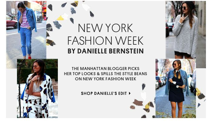 Topshop What about a shoppable trend report directly from New York fashion Week?