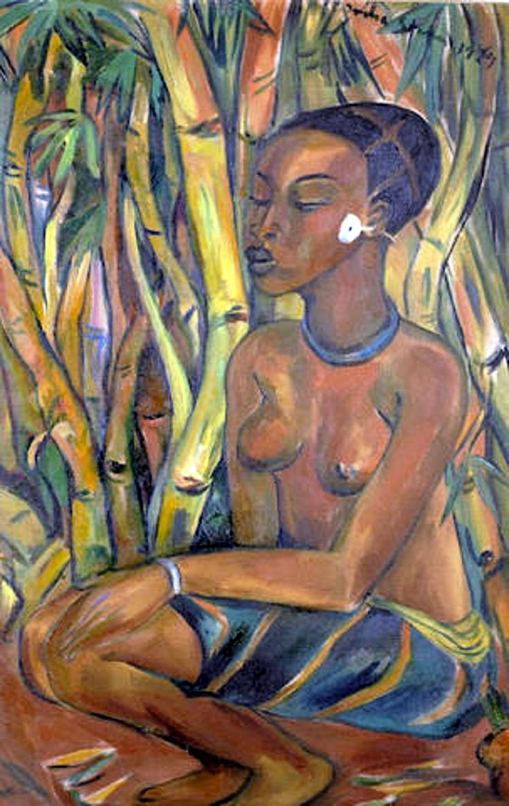 Image: Irma Stern's Congo Woman, was one the top ten works sold at the Bonhams South African Sale