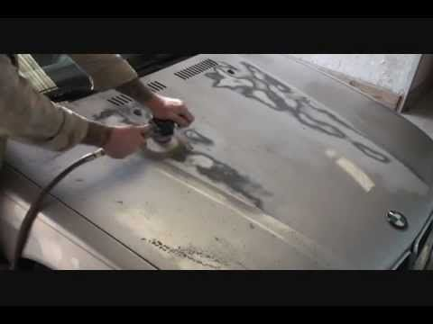How To Repair Faded Peeling Paint On Your Car or Truck-Automotive Paint and Body Tech Tips-Part 1, via YouTube.