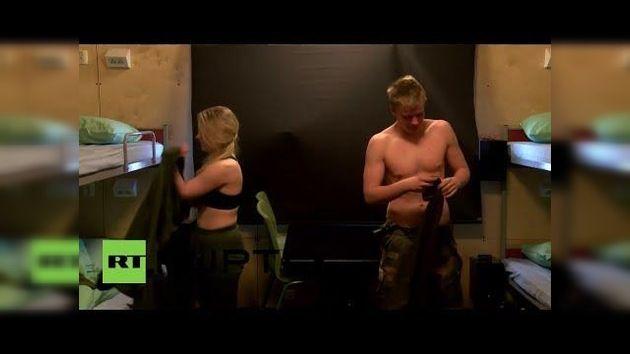 Experimento: Hombres y mujeres comparten dormitorios en el Ejército noruego