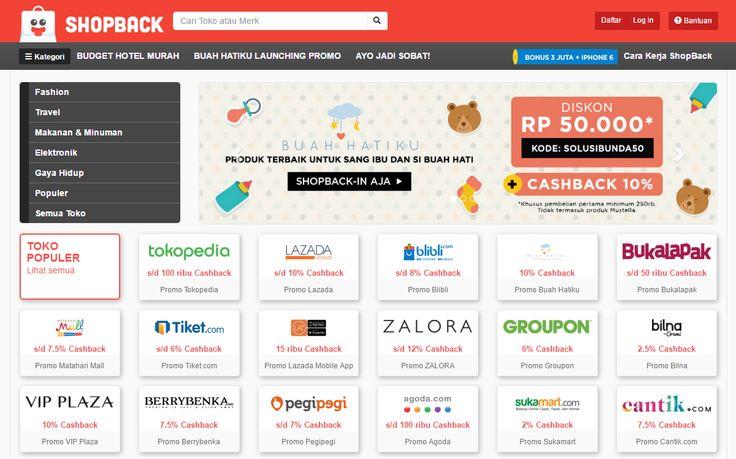 Berbelanja Online Melalui ShopBack Bisa Dapat Cashback, Mau?