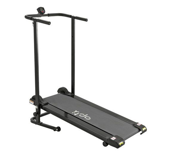 Buy Opti Non-Motorised Folding Treadmill at Argos.co.uk, visit Argos.co.uk to shop online for Treadmills, Fitness equipment, Sports and leisure