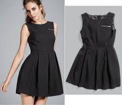 ropa ala moda juvenil  el negro un color practico en el vestidor de las mujeres