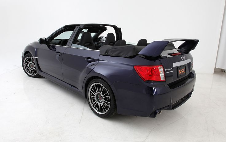 only two in the world, convertable sti