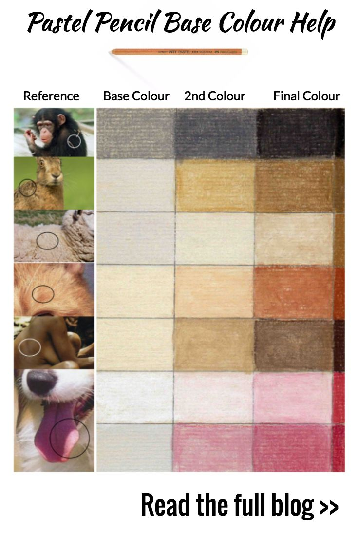 For help building up pastel art base colours using pastel pencils. Get this handy charge and learn the process on the blog: https://www.colinbradleyart.com/home/layering-colours-in-pastel-pencils/