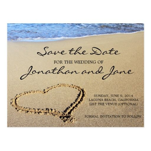Top 25 ideas about Beach Save the Date Cards – Save the Date Wedding Invite