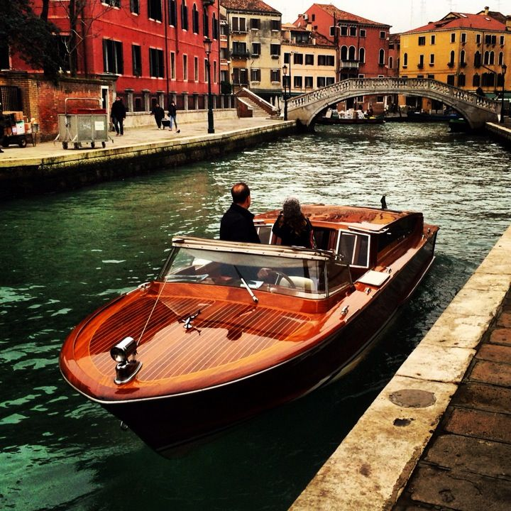 Venice Water Taxi in 2019   Wooden boats for sale, Plywood ...