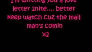 4 page letter Aaliyah (lyrics, via YouTube) by Aaliyah ♥