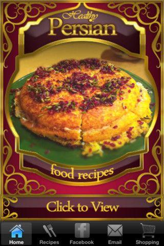 Delicious persian food recipes free app