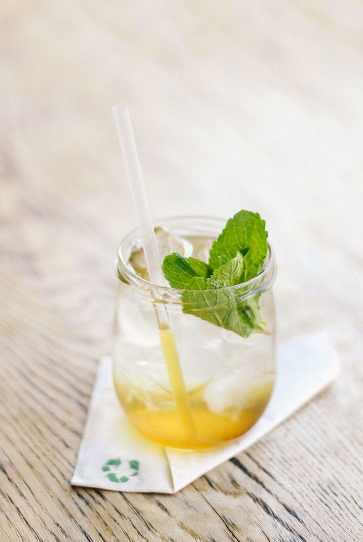 maté-mint lemonade | drink | cafe | SKØG Urban Hub | Brno