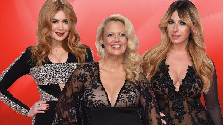 """Diese Dekolletés sind spitze! Bei der diesjährigen """"Bambi""""-Verleihung zogen die Promi-Damen alle Blicke auf sich und ihre Oberweiten. Foto:…"""