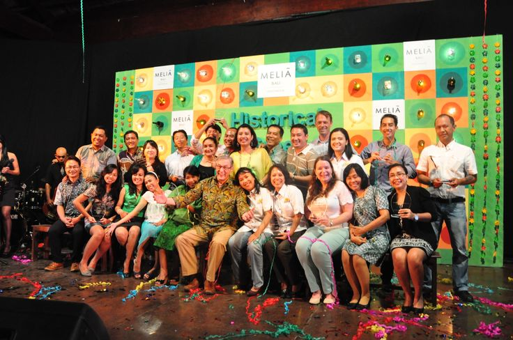 Top 20 Producer of @MELIÃ BALI at the Historical Green 2013 awarding night.