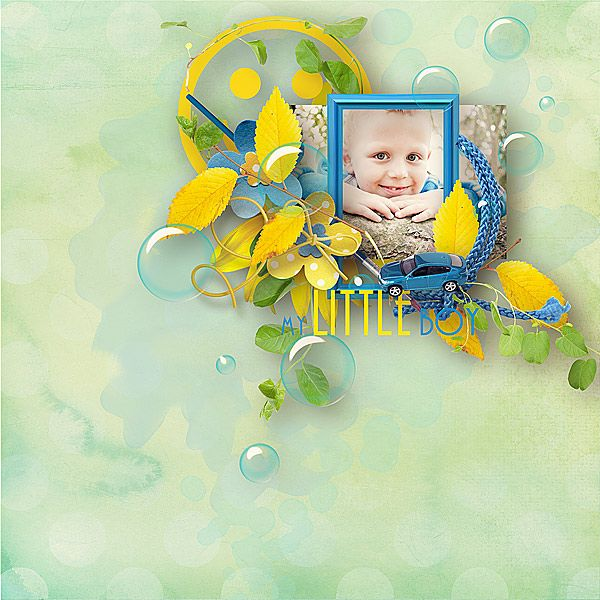 Brother's B-day Designs by Brigit @ digitalscrapbookingstudio