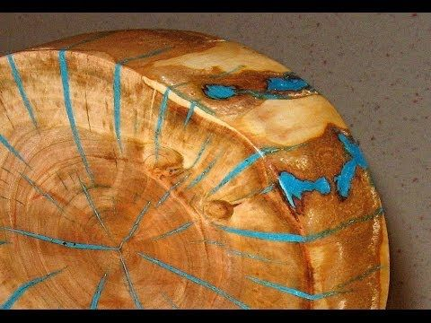 Make a log slice wood art decor - woodworking, My Crafts and DIY Projects