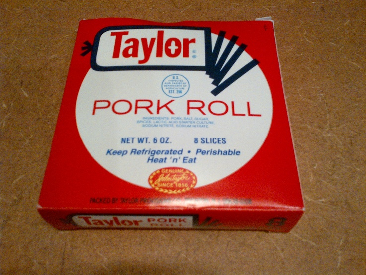 I found Taylor Pork Roll -- a New Jersey product -- while vacationing in Florida. Fry it up or microwave it ... make it in a sandwich or make your own dish out of it.