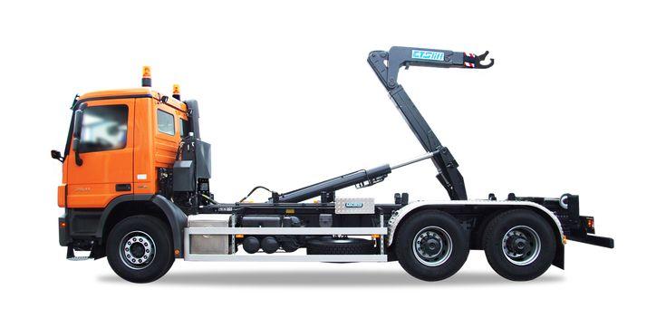 Jednoramenné nosiče kontejnerů s nosností 10 až 26 tun