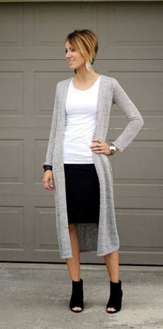 Casual-Work-Outfits-For-Women-In-Their-40s #womenworkoutfits