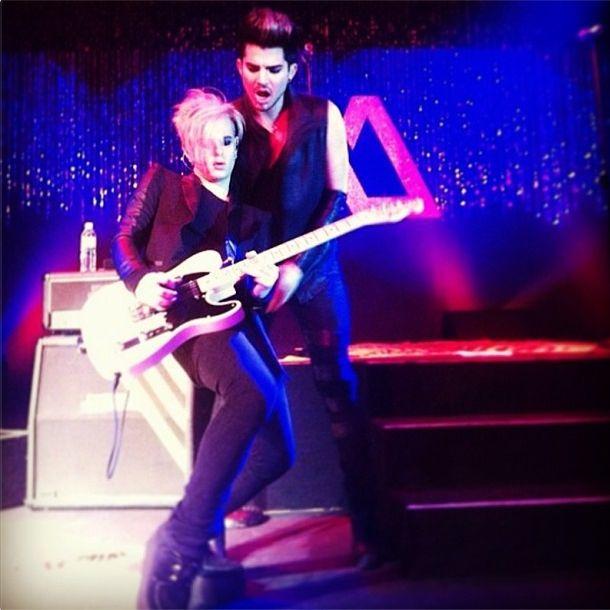 Adam Lambert And Tommy Joe Ratliff 2013 Pinterest • The worl...