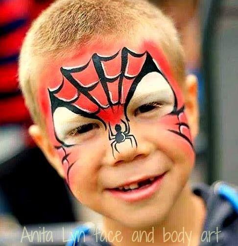 Spiderman, maar dan eens op een andere manier. Heel mooi ontwerp van Anita Lyn.