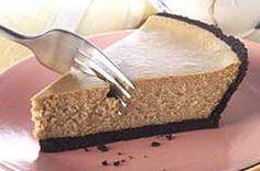 PHILADELPHIA® 3-STEP® Cappuccino Cheesecake Recipe - Kraft Recipes - looks so…