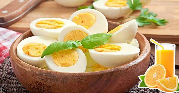 Perdre du poids : le régime orange et oeufs pour perdre 8 kilos en 15 jours