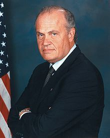 Fred Thompson, U.S. Senator from 1993-2003 and TV and movie actor.  Age 73.  August 19, 1942 - November 1, 2015.