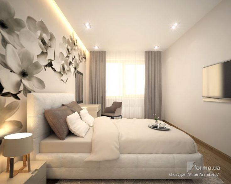 """Квартира в ЖК """"Зеленый остров"""", Студия """"Azari Architects"""", Спальня, Дизайн интерьеров Formo.ua"""