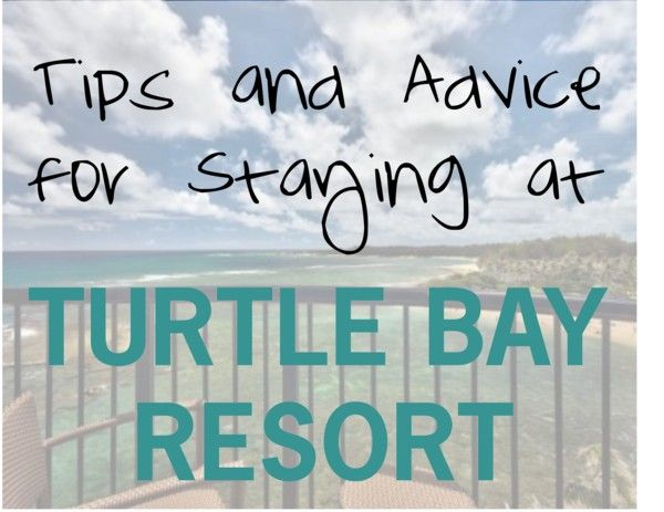 Tips and Advice for Staying at Turtle Bay Resort